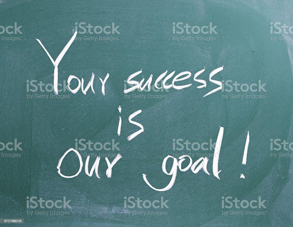 Ihr Erfolg ist unser Ziel! – Foto