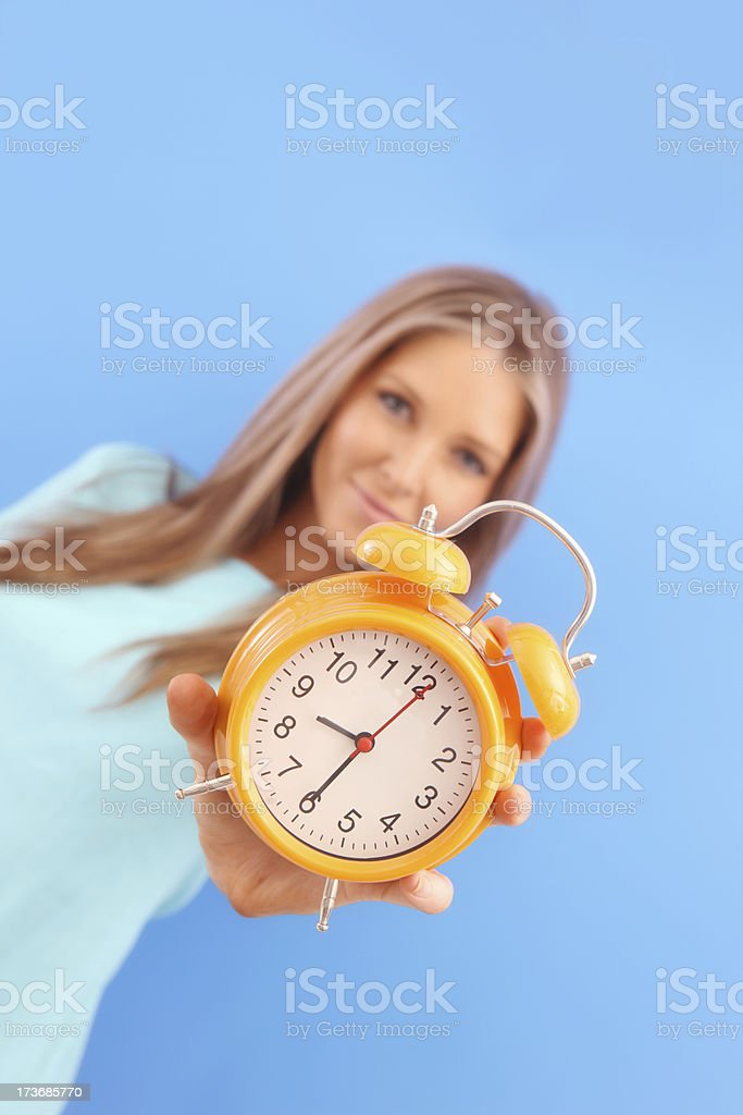 Your Time royalty-free stock photo