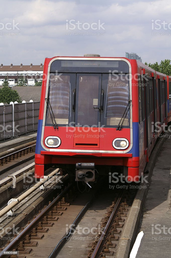 Your train is arriving royalty-free stock photo