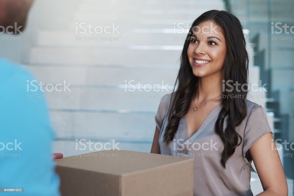 Your turnaround time is quite impressive stock photo