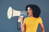 istock Your voice goes a long way 1173545949