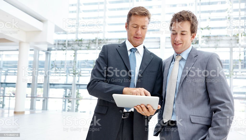 Your work is excellent royalty-free stock photo