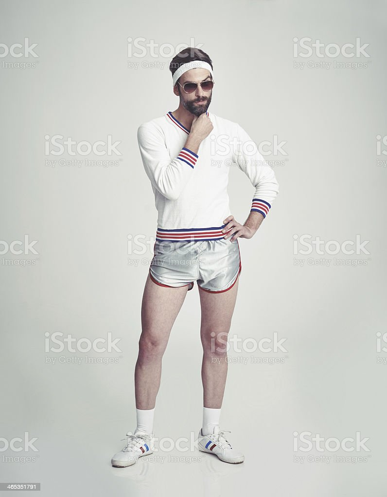 Your workout style needs work... stock photo