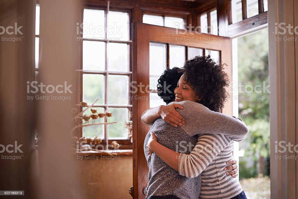 You're back! stock photo