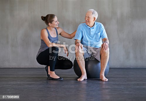 517995977 istock photo You're getting stronger everyday 517998989