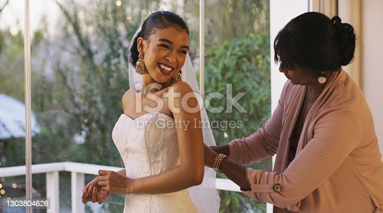 istock You're going to make a beautiful bride 1303804626