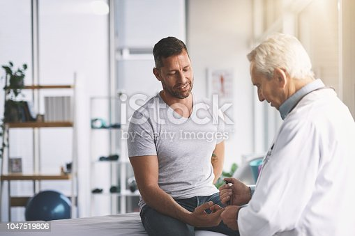 istock You're gonna feel a little prick 1047519806