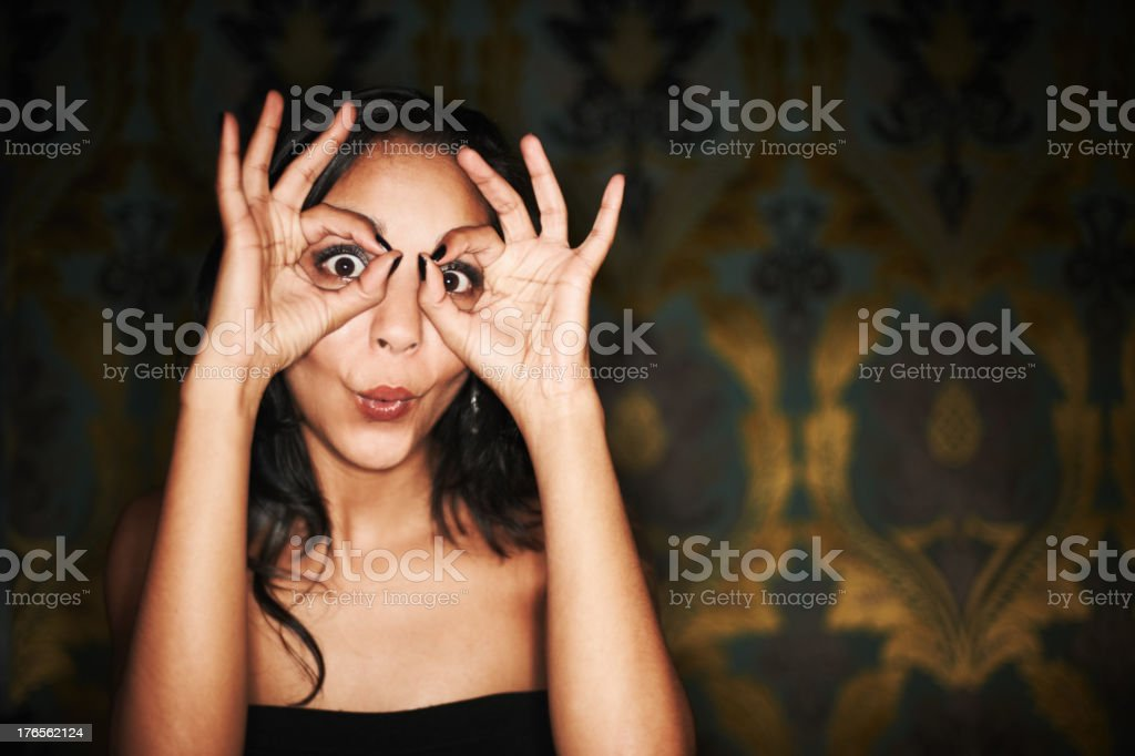You're in my sights stock photo