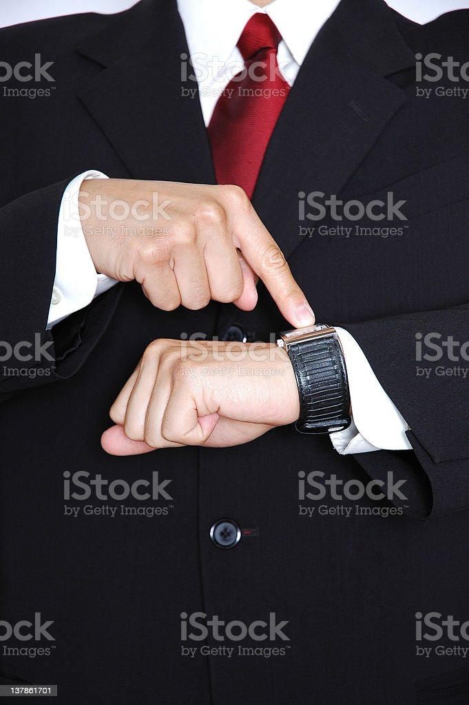 You're Late stock photo