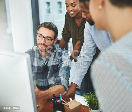 609072850 istock photo You're looking at the best creative minds 609066566