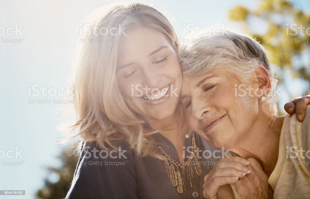 You're more special to me than words could say stock photo