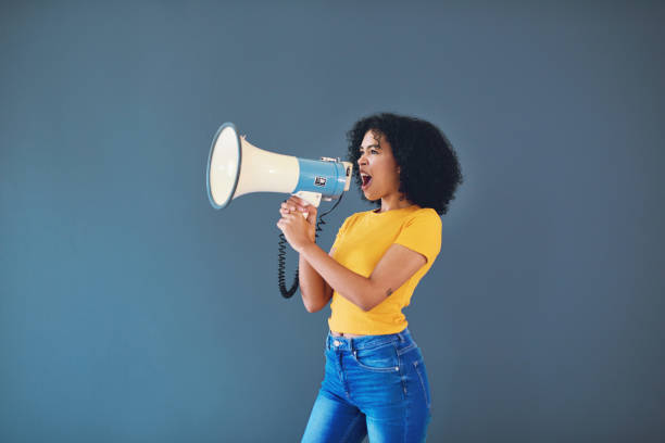 You're not just speaking for yourself stock photo