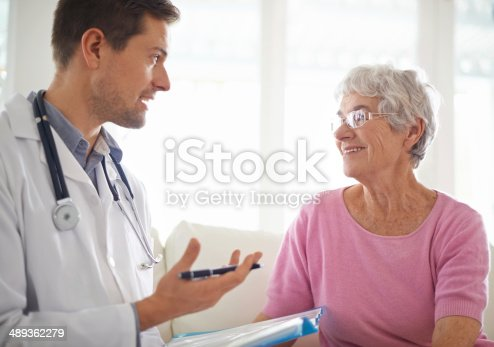 istock You're still in good health 489362279