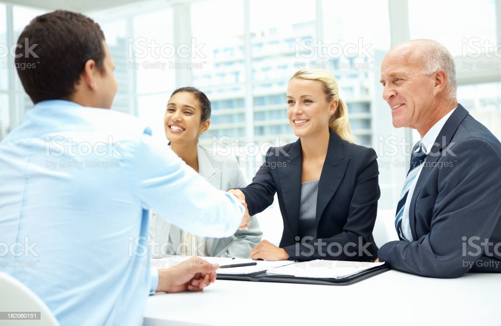 You're the best candidate for job! royalty-free stock photo