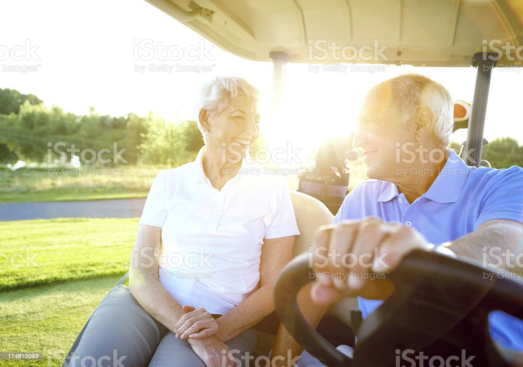 You're the only golfing partner I want royalty-free stock photo