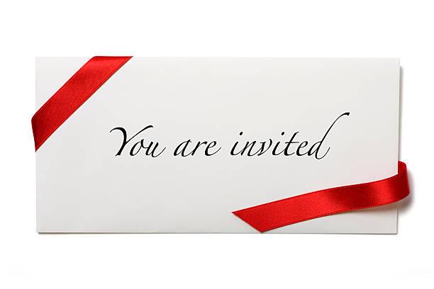 вы пригласили - приглашение стоковые фото и изображения