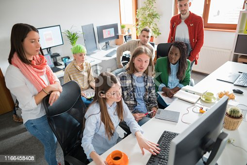 istock Youth at work 1166458408