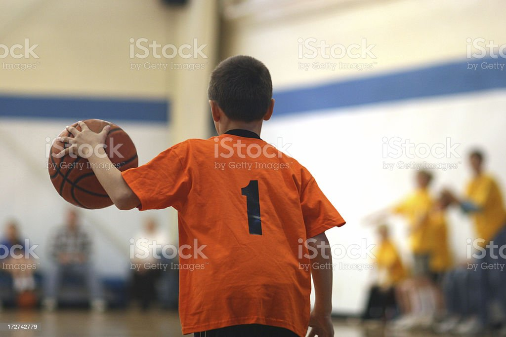Youth Basketball stock photo