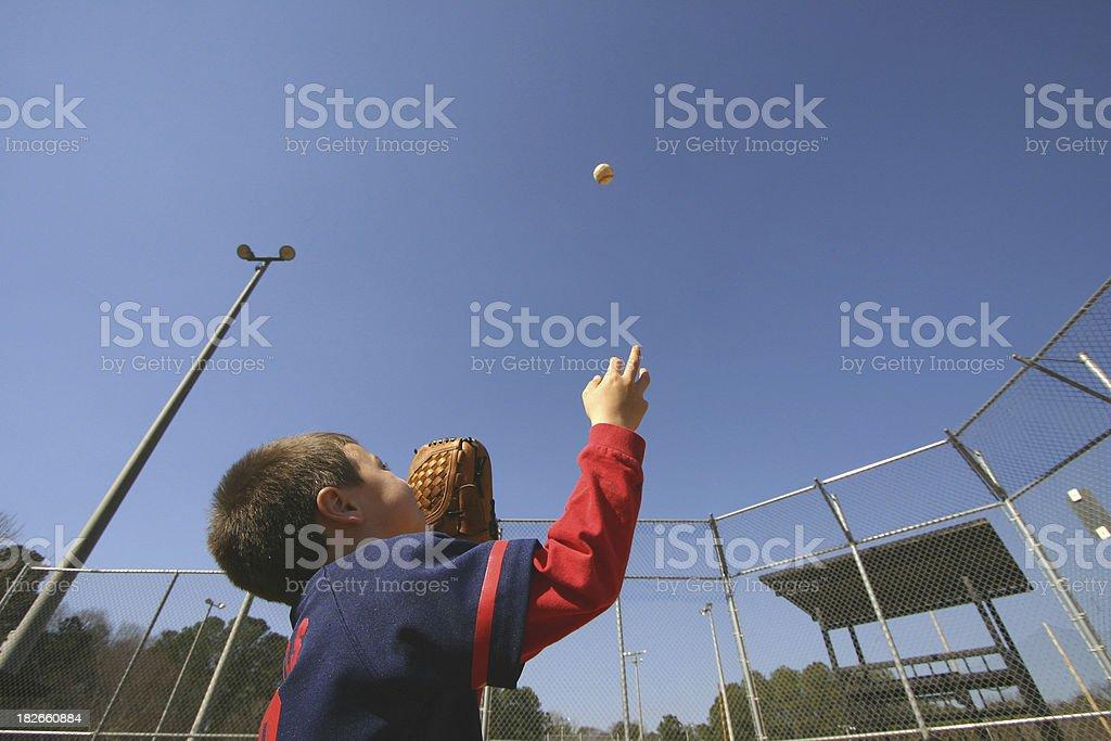 Youth League Boy stock photo