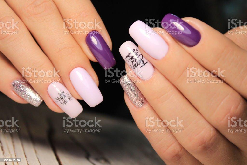 Youth manicure design best nails, gel