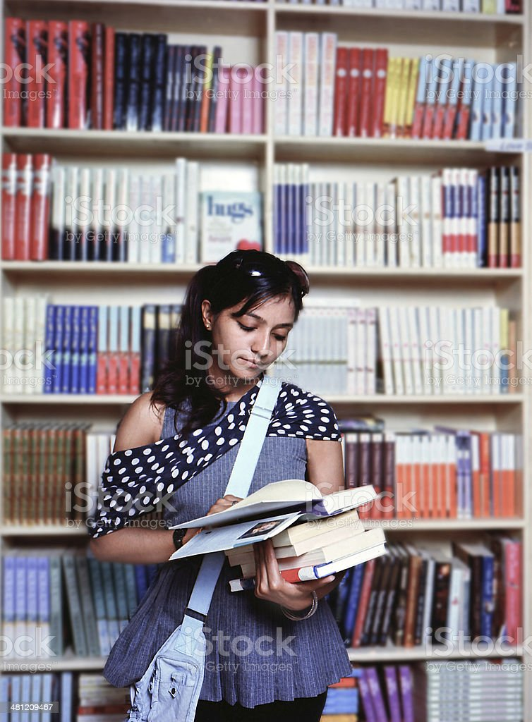 College Girl Library