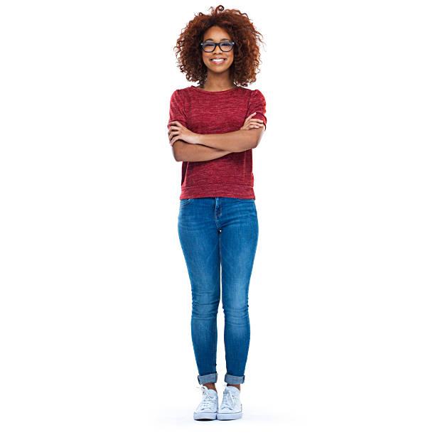 Youthful confidence stock photo