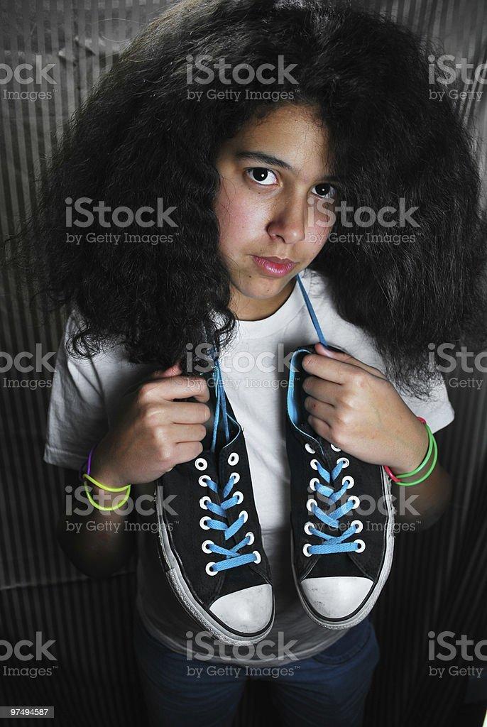 Youthful Fashion royalty-free stock photo