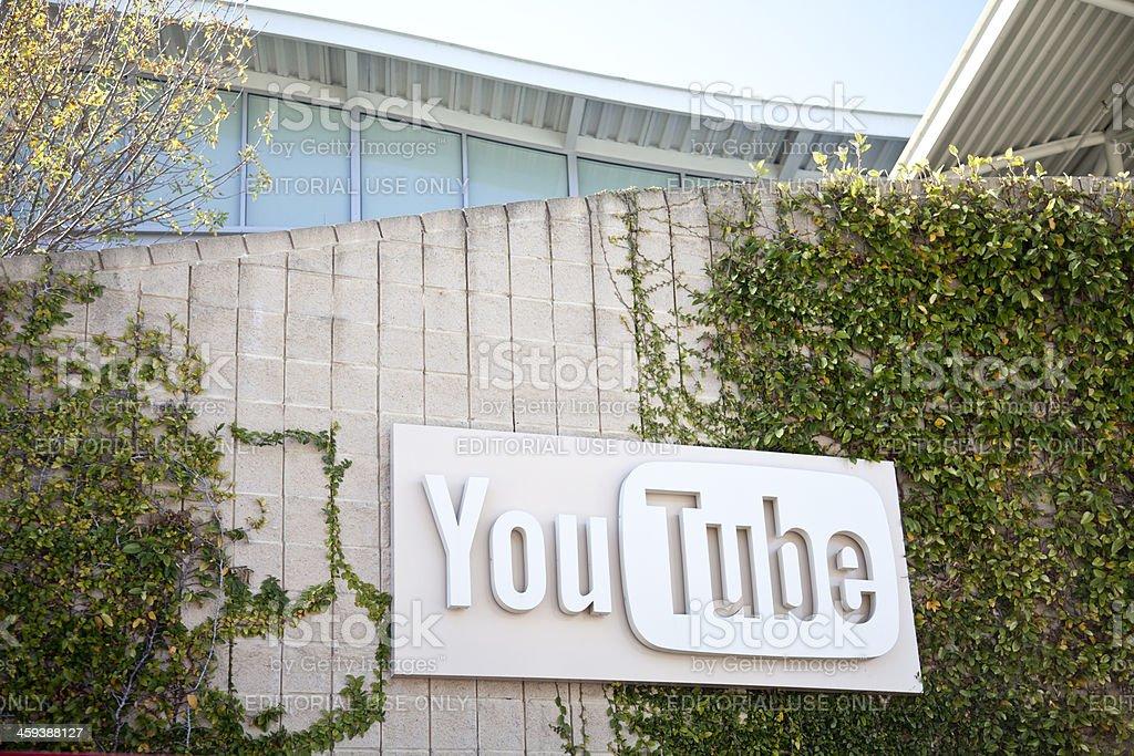 YouTube Headquarters royalty-free stock photo