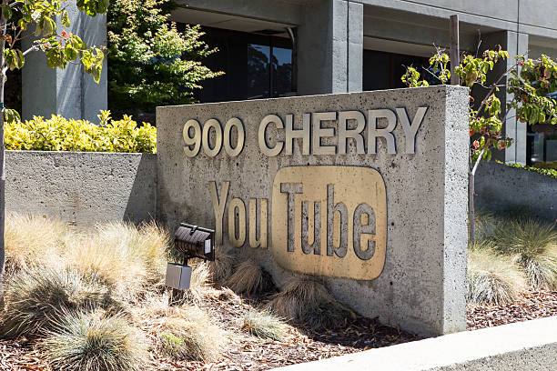 Youtube Headquarters stock photo