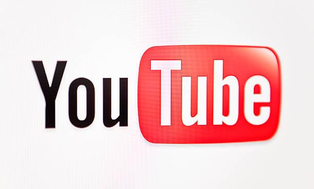 youtube logo - youtube stockfoto's en -beelden