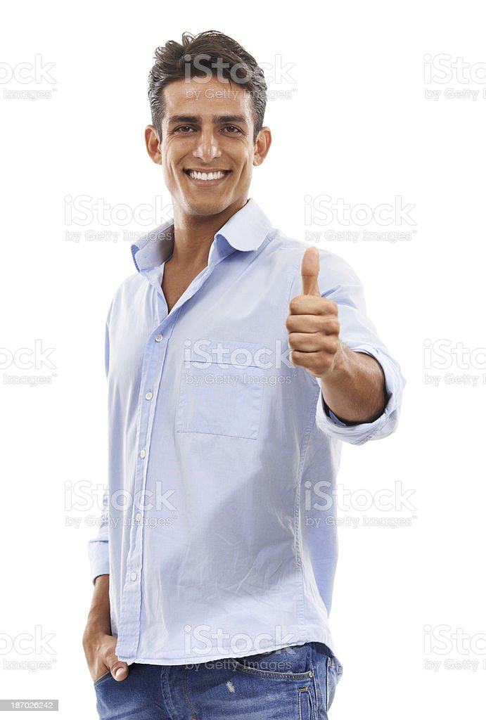 You've dona a great job! royalty-free stock photo