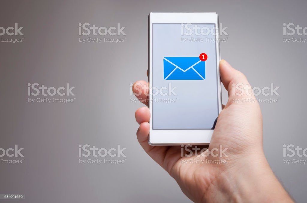 You`ve got mail stock photo