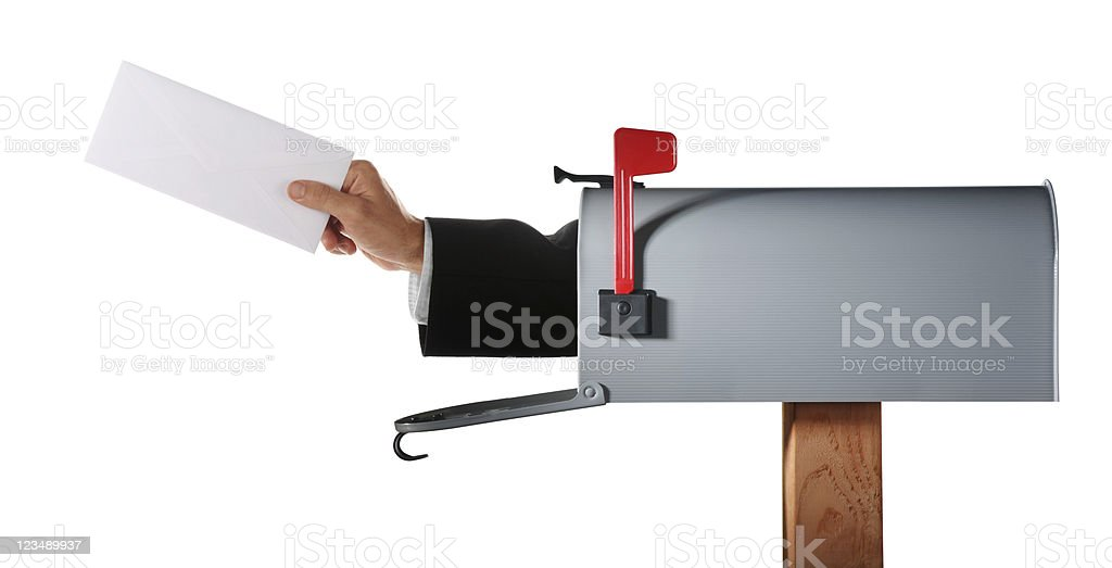 You've got mail XXL stock photo
