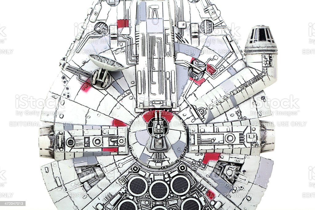 You've never heard of the Millennium Falcon royalty-free stock photo