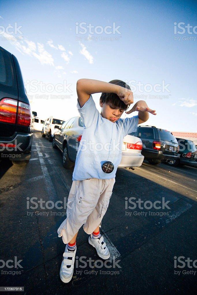 Yo-yo Boy royalty-free stock photo