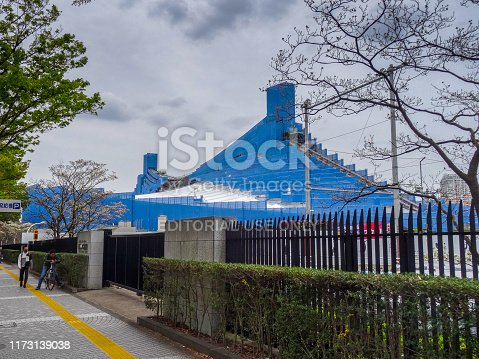 1188904934 istock photo Yoyogi National Gymnasium renovation 1173139038