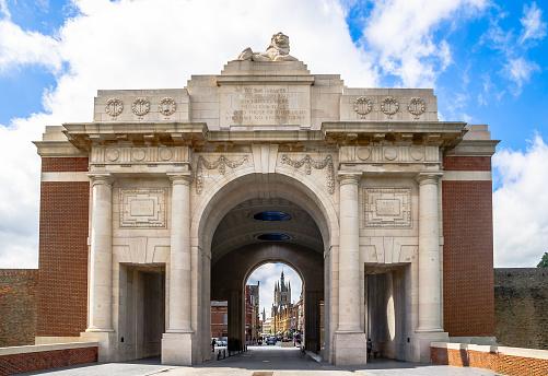 Ypres Menin main gate - Belgium