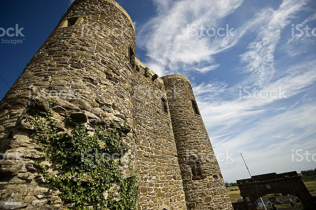 Ypres Tower, Battle royalty-free stock photo