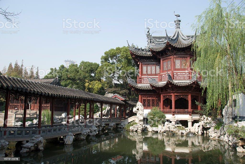 Yu Yuan Gardens stock photo