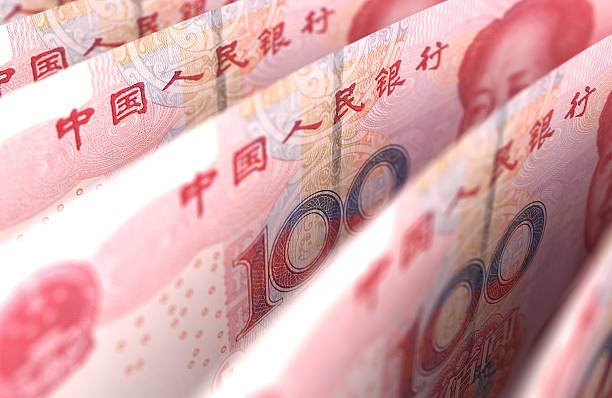 Yuan Close-Up Yuan Close-Up chinese currency stock pictures, royalty-free photos & images