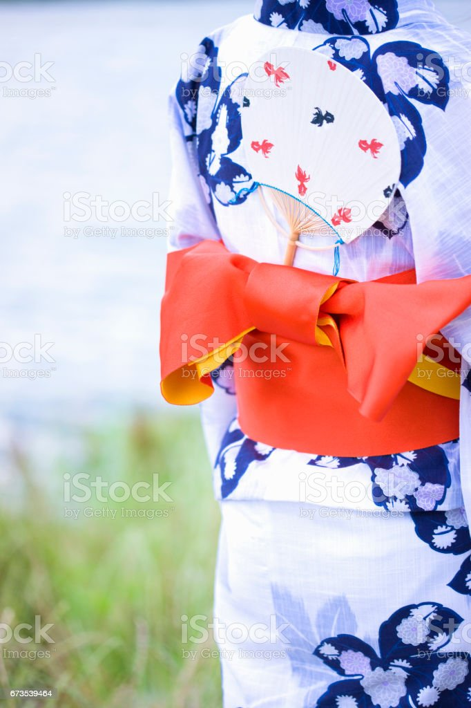 Yukata royalty-free stock photo