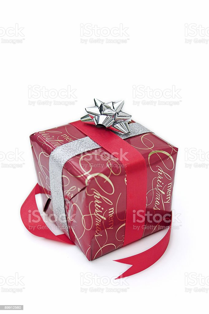 Yuletide gifts royalty-free stock photo