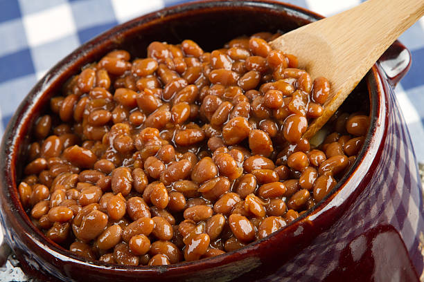 yummie beans - bean stock photos and pictures