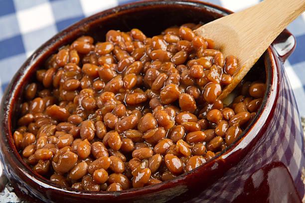 Yummie beans stock photo