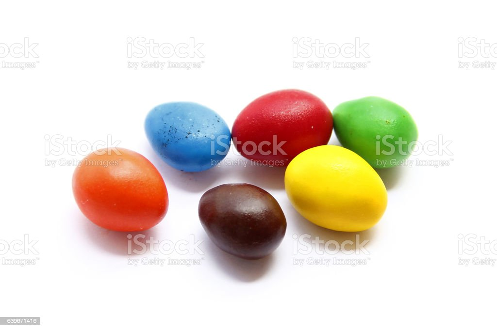 Yummy Colourful Candies. stock photo