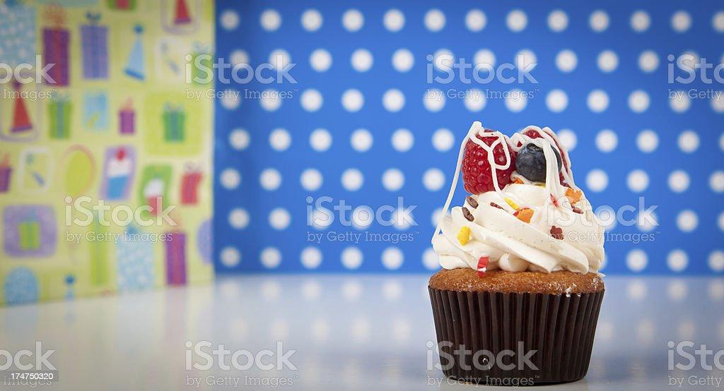 Yummy Cupcake royalty-free stock photo