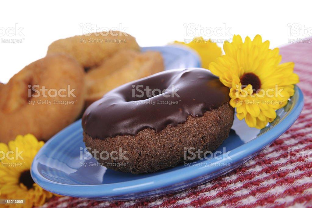 Yummy Doughnuts stock photo