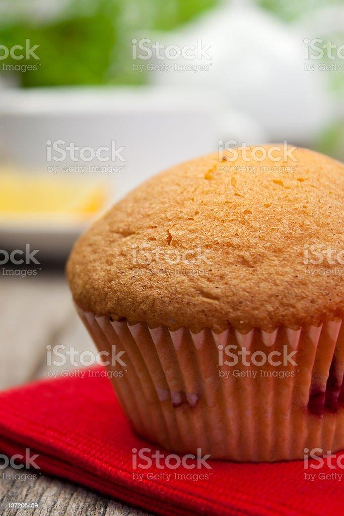 Yummy muffin royalty-free stock photo