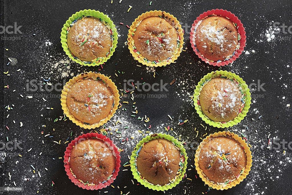 Yummy Muffins royalty-free stock photo