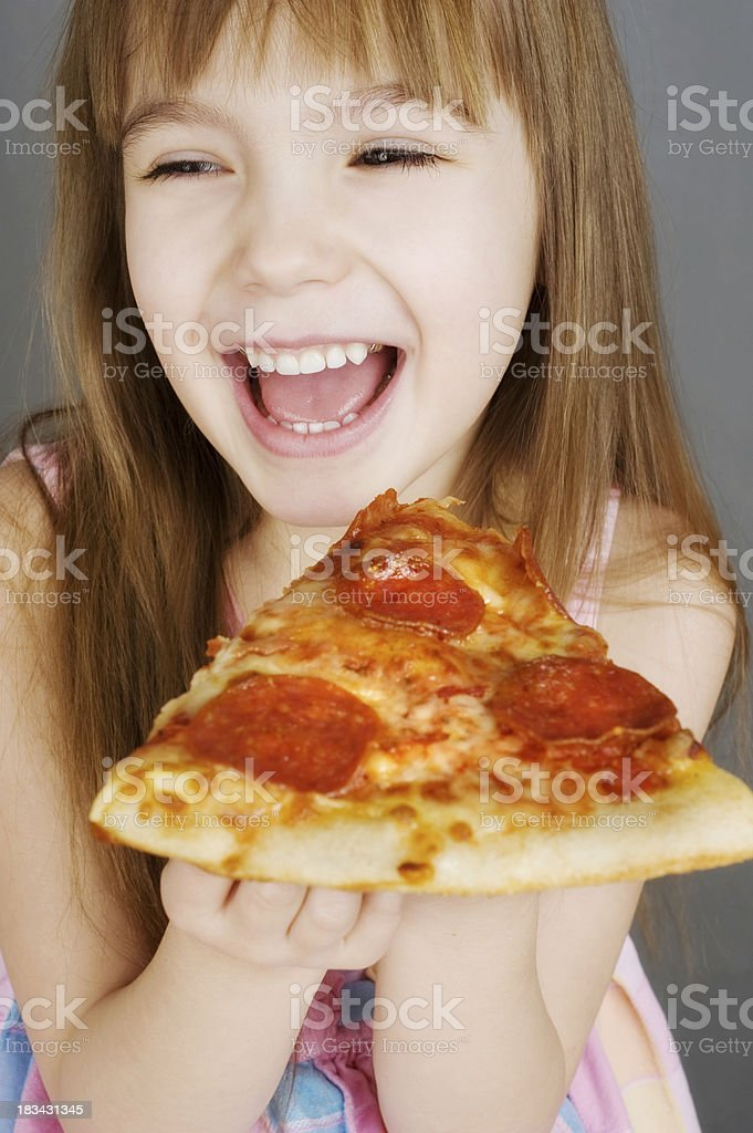 Yummy Pizza royalty-free stock photo